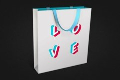 Anaglyph Isometric SVG Color Font Product Image 3