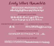 Four Hand Lettered Fonts Bundle by Jordyn Alison Designs Product Image 3