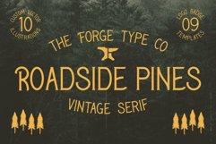 Roadside Pines - Vintage Serif Product Image 1