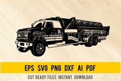 Fire Truck SVG, Firetruck Svg, Fire Engine SVG, FD Clipart Product Image 1