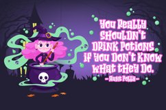Hello Nightmare a Spooky Font Product Image 3