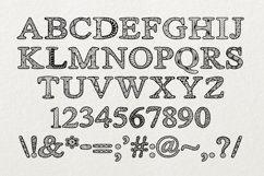Zsyraph Font Product Image 5