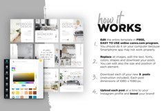 Interior Designer Instagram Posts Template | CANVA Product Image 8