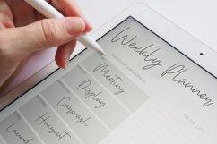 Bethan White - Monoline Script Font Product Image 3