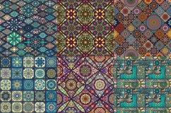 Tile mosaic seamless patterns set Product Image 4