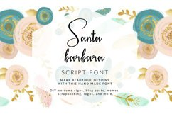 Santa Barbara Stylish Script Font Product Image 1