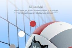 Volleyball Ball Animated Mockup Product Image 5