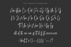Objectives SVG Brush Font Product Image 5