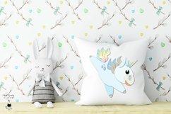 Rainbow Unicorn Clipart | Unicorn SVG Bundle Product Image 5