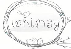 Whimsy - A Whimsical Handwritten Font Product Image 1