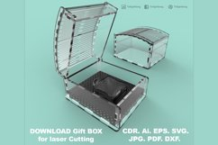 Gift Box - Laser cutting File Product Image 4