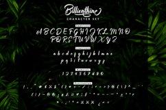 Billionthine Calligraphy Script Product Image 3