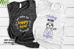 Funny Sleepy Quote SVG Bundle Volume 1 - Colorful Version Product Image 3