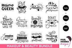 Makeup SVG Bundle, Beauty SVG Bundle - 12 Files Product Image 1