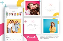 Colorful Instagram Puzzle Template for Canva Product Image 8