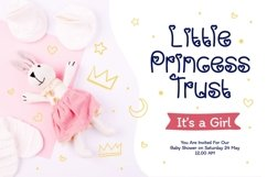 Baby Girl - Cute & Playful Display Font Product Image 4
