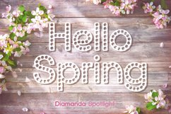 Diamanda Spotlight - Retro Stage Font Product Image 1