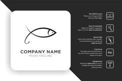 Line Fish Logo Product Image 1