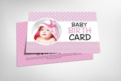 Baby Birth Card Product Image 1