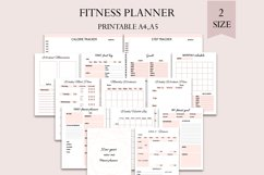 Fitness planner pack, New year new me, Product Image 1