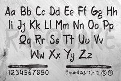 RASQUAKE brush font EXTRA swashes Product Image 2