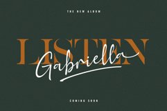 Golden Class Font Duo Product Image 3
