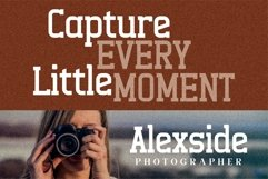 Alexside - Premium Slab Font Product Image 7