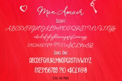 Mon Amour Font Duo Product Image 2