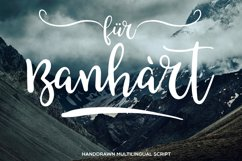 Fur Banhart Script Product Image 1