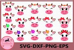 Cow SVG, Farm svg, Cow head svg, Calf with Bandana svg, Calf Product Image 1