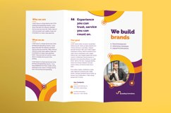 Branding Consultant Brochure Trifold Product Image 2