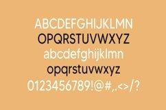 Web Font Patchouli - a modern sans serif font Product Image 3