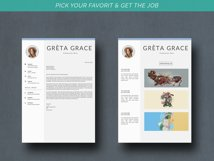 Creative Resume Template CV Product Image 5