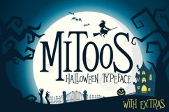 Mitoos Halloween typeface with extras Product Image 1