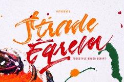 Strade Eqrem   Freehand Brush Script Product Image 1