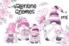 Valentines Gnomes Clipart Product Image 1