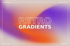 1970s Retro Gradient Backgrounds Set Product Image 1