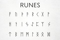 Magic signs, astrological signs, runes in vector, Alchemical Product Image 4