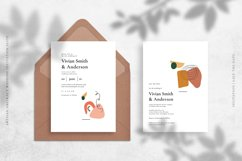 Artisan Abstract Wedding Invitation Suite Product Image 2