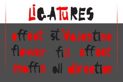 Red-and- Black OTF font Product Image 4