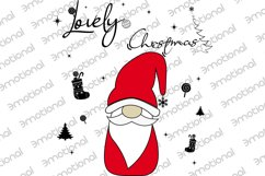 Noel Xmas SVG 04, Gnome, Merry Christmas, Kids Funny Product Image 2