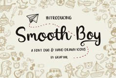 Smooth Boy - Fonts & Icons Product Image 1