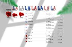 State abbreviation. USA sublimation. Louisiana Product Image 5