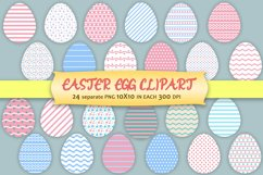 Easter Egg Clipart Product Image 1