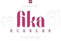 Fika Regular Product Image 1