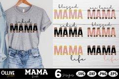 Mama Sublimation Bundle, Mama PNG Sublimation Product Image 2