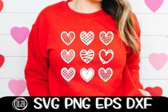 Hearts - Valentine SVG PNG EPS DXF - Cutting - Sublimation Product Image 1