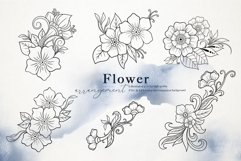 Nautical Floral & Mandala Watercolor Product Image 4