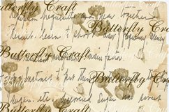 Old Letters Digital Paper, Vintage letters scrapbook Paper Product Image 2