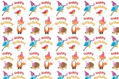 Birthday Girl Clipart and Digital Papers Set Product Image 4